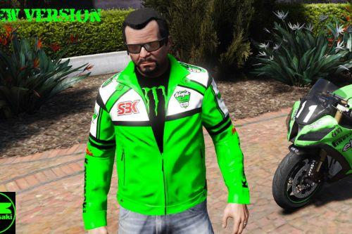 2376e7 kawasaki jacket new version