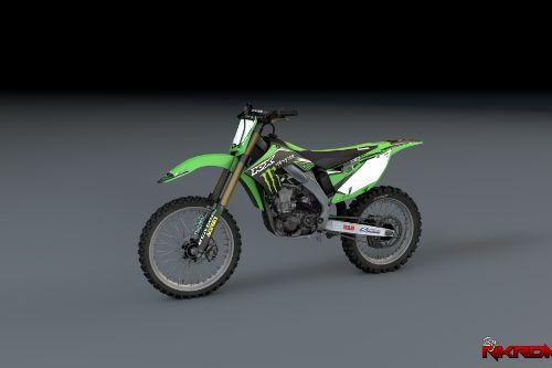 Kawasaki KX450F - 2015 Factory Graphics