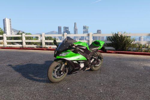 Kawasaki Ninja ZX10 R 2014 [Add-On | Tuning]