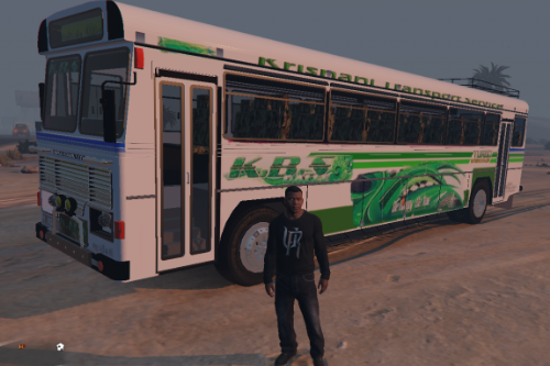 KBS Galle Bus Texture