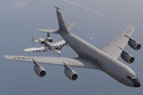 KC-135R Stratotanker [Enterable interior | Add-On]