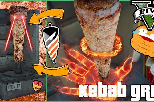 KEBAB GRILL [Base Game Retexture]