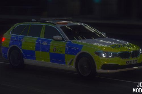 Kent Police 2020 BMW 530d G31 - Roads Policing Unit.