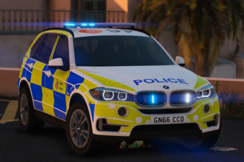Kent Police BMW X5 Traffic [Replace | ELS | Template]