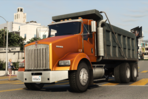 Kenworth T800 Commercial Dump Truck [Replace]