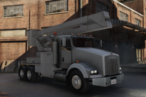 Kenworth T800 Utility Truck [Replace | LODs]