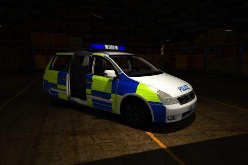 Kia Carnival British Police Generic  [Replace | ELS]