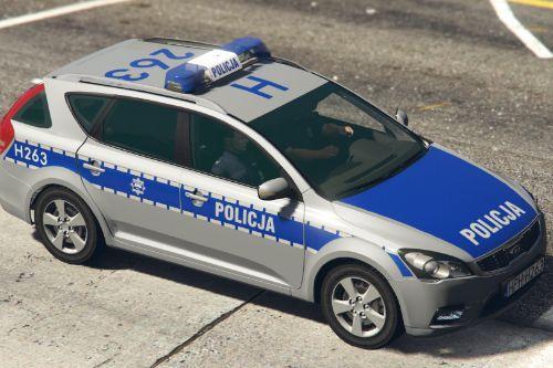 KIA Cee'd SW I Polish Police 3 versions
