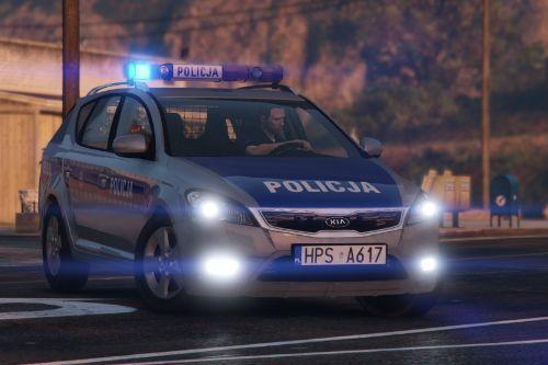 KIA Cee'd SW I Polish Police