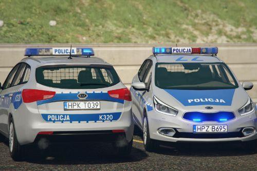 KIA Ceed SW II Polish Police - 5 versions