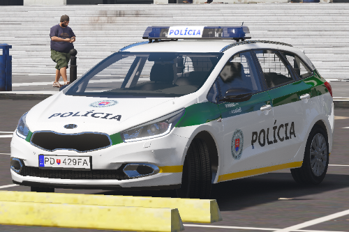 KIA Ceed SW II Slovak Police