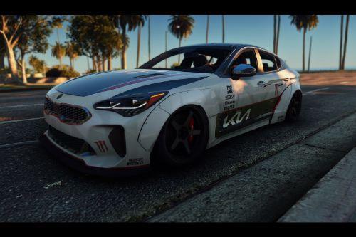 Kia Racing Livery for  KIA Stinger 3.3 GT 2017