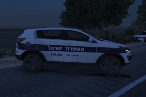 Kia sportage 2017 | קיה ספורט'ג 2017 משטרת ישראל | Paintjob