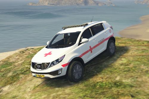Kia Sportage - Cruz Roja