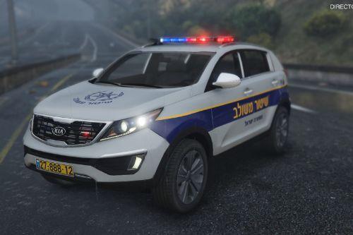 Kia Sportage Israeli Police [Replace | Non-ELS]