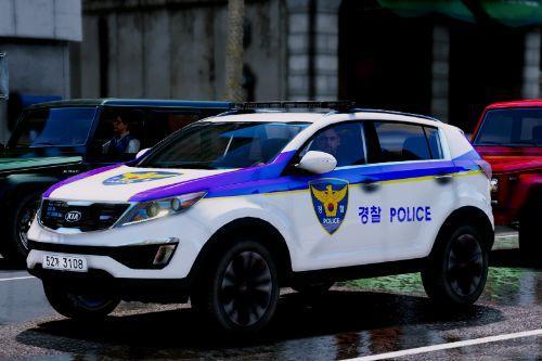 KIA SPORTAGE KOREA POLICE/한국 경찰 스포티지