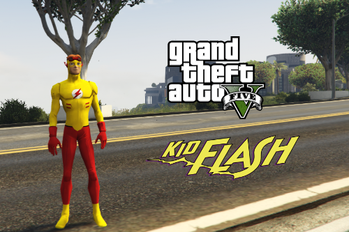 Kid Flash [Add-On Ped]