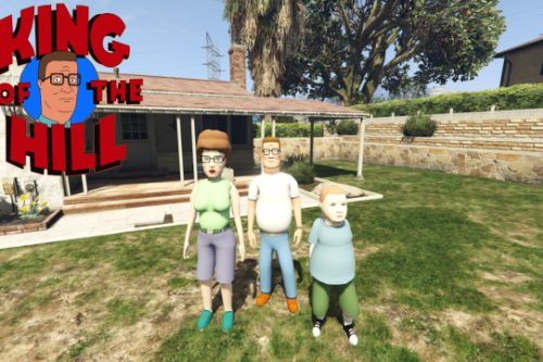 King of the Hill Pack [Add-on Peds]