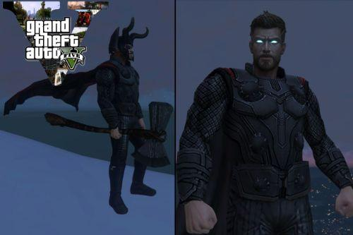 KING THOR! Ruler of NEW Asgard! (3rd SUPERHERO CLOTH TO EXIST)