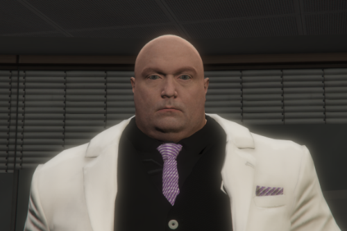 Kingpin Wilson Fisk Spider-man PS4 [Add-On Ped]