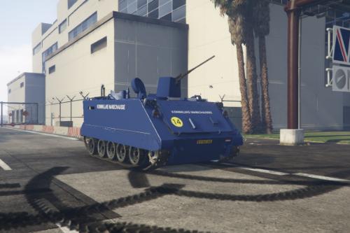 KMAR YPR Pantserrupsvoertuig Koninklijke Marechaussee