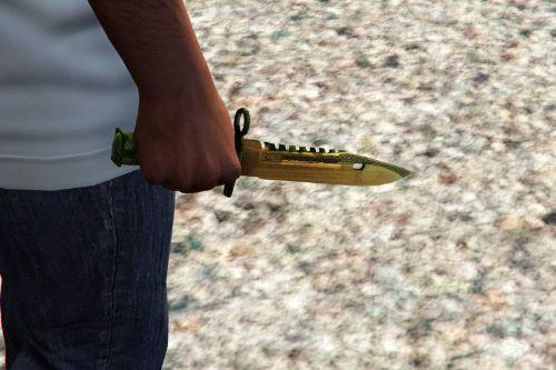 "Knife M9 Bayonet ""Lore"" from the game - Counter-Strike: Global Offensive (CS:GO)"