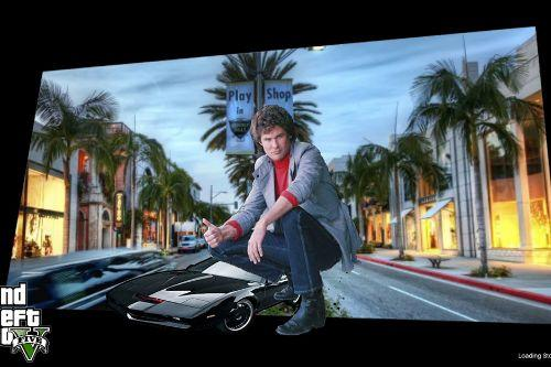 Knight Rider Loading Screen