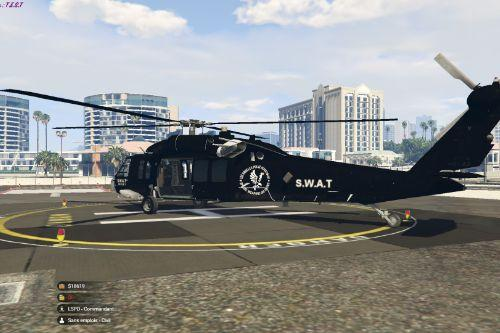 Knighthawk SWAT Rescue 1 from the SWAT TV serie on CBS