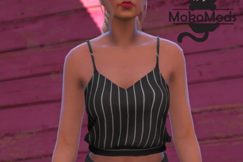 Knot Cropped Top for MP Female