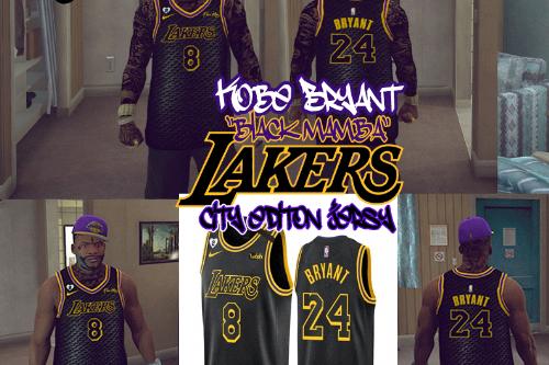 Kobe Bryant Black Mamba Jersey For Franklin