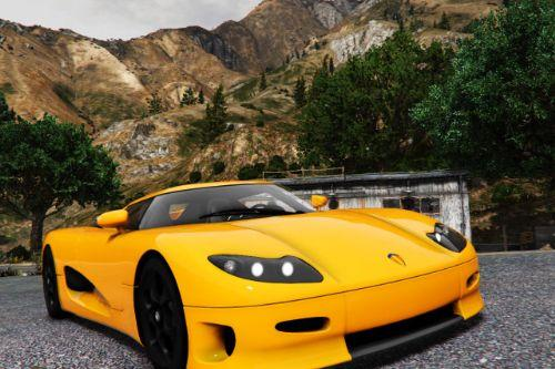Koenigsegg CC8S 2002 [Add-On | Extras]