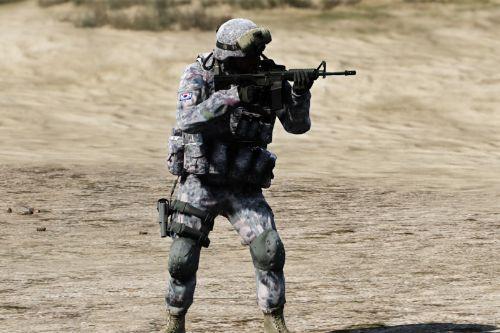KOREA ARMY SKIN/한국 신형 군복 스킨(생활복,전투복 모두포함)