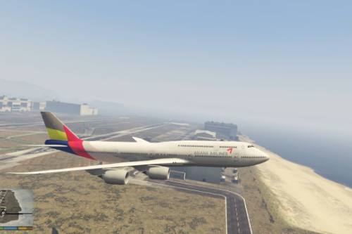 Korea Asiana Airlines Boeing 747-8i [Livery]