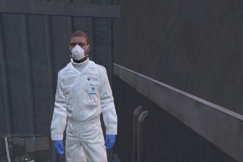 한국 질병관리본부 복장 Korea CDC Uniform