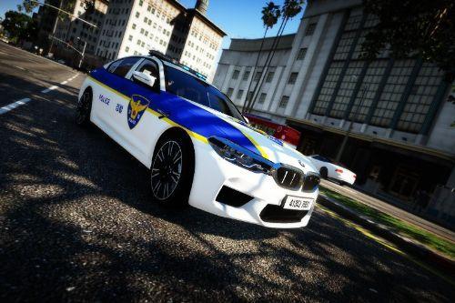 KOREA POLICE BMW M5 F90ㅣ한국 경찰 BMW M5 F90