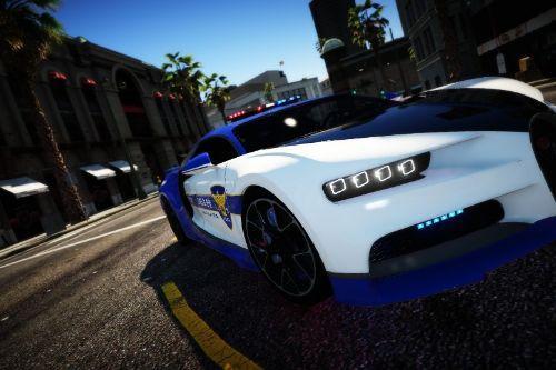KOREA POLICE Bugatti Chironㅣ한국 경찰 부가티 시론