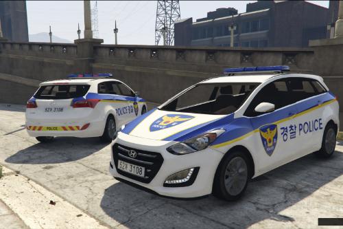 KOREA POLICE Hyundai i30 - 한국 경찰 현대 i30