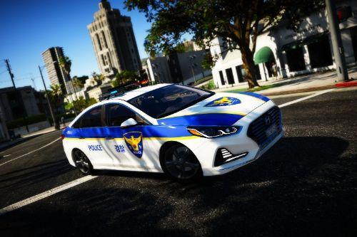 KOREA POLICE Hyundai sonataㅣ한국 경찰 현대 소나타