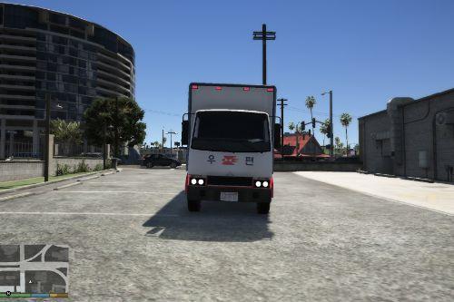 Korea Post Office Vehicle/우체국 택배 차량