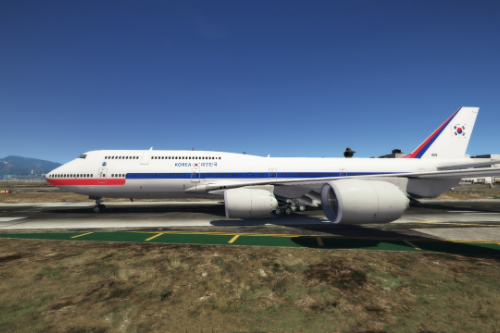 Korean Air Force One korea Boeing 747-8i [Livery]