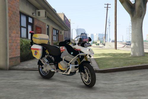 BMW GS 1200 - Korean EMS Paintjob