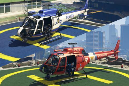 Korean POLMAV 한국 경찰/구조 헬기