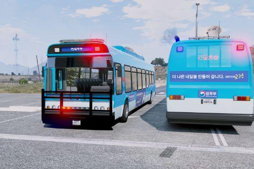 Korea prison bus / 교도소 죄수 호송버스