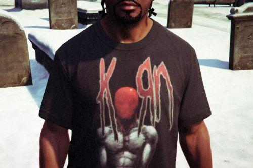 KoRn T-Shirt for Franklin