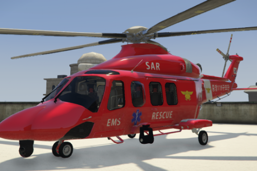 KR FD AW139 RESCUE UNIT / 한국 소방 구조 헬기