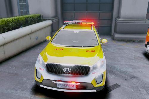 KR FD Patrol vehicle skin_쏘렌토 119 순찰차/ELS