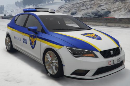 KR PD TRAFFIC CAR 2 / 한국 경찰 경형 교통 순찰차