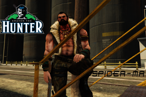 Kraven The Hunter [Add-On Ped]