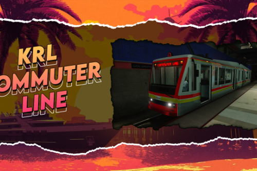 KRL Commuter Line | Metro Line Livery | Replace
