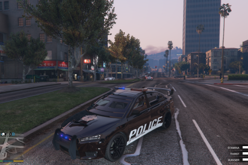 kuruma blindée police [add-on]
